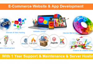 We will Build professional b2b and b2c ecommerce website and apps for your idea